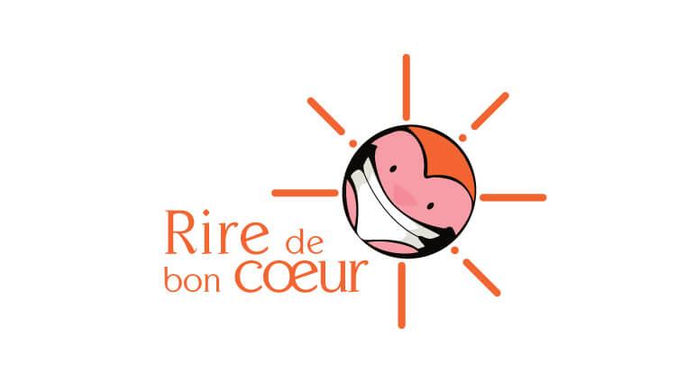 Rire de bon coeur - Logo